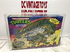 Turtle BLIMP playmates 1989 series 1 AFA GRADED 80 VEHICLE TMNT Video Game Offer
