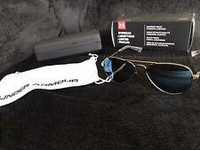 Under Armour Getaway M Sunglasses (Rose Gold) Blue Lenses