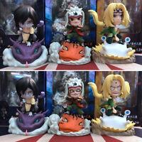 Naruto Jiraiya Orochimaru PVC figure figures doll action toy dolls fashion cute