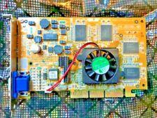 ASUS AGP-V7700 NVIDIA GEFORCE2 32MB AGP VIDEO CARD R1.02 - VGA PORT 5185-0435
