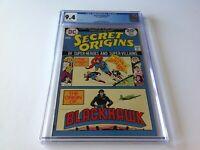 SECRET ORIGINS 6 CGC 9.4 WHITE PAGES BLACKHAWK LEGION SUPERHEROES DC COMICS