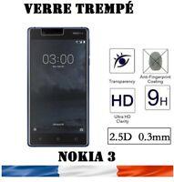 vitre protection verre trempé film protecteur écran pour Nokia 3