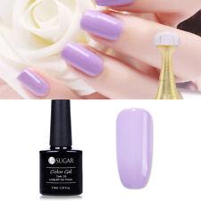 7.5ml UR SUGAR Light Purple Gel Nail Polish Nail Art UV Gel Varnish Manicure DIY