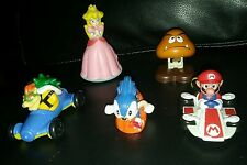 Video game toys lot super mario goomba koopa sonic princess peach kart mcdonalds