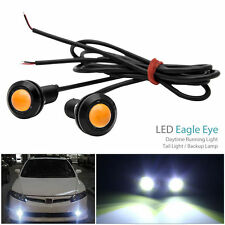 8x12V 9W LED EagleEye Daytime Running DRL Tail Light Backup Lamp Car Motorcycle
