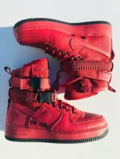 competitive price b6f33 6bc7c Nike SF Air Force 1 Casual Shoes 857872-600 Cedar Red Black Women s Size 9.5