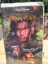 VINTAGE Walt Disney's SQUANTO A Warrior's Tale VHS Tape....