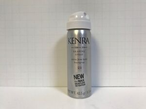 Kenra Shaping Spray Extra Firm Hold Hairspray #21 (Alcohol Free) - 1.5oz TRAVEL