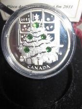 Canada 2011 $20 Fine Silver Coin Christmas Tree