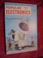 POPULAR ELECTRONICS magazine August 1958 Missles and Electronics Cape Canaveral