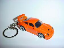 HOT 3D PORSCHE 934 Turbo RSR CUSTOM KEYCHAIN keyring key racing orange finish