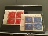 Germany DDR Leipzig Spring Fair 1958 mint never hinged stamps blocks R23415