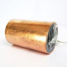 Obbligato Copper Capacitor 6.8uF (630V). Solid copper case. Smooth sound.