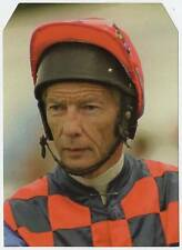 Scarce Trade Card of Lester Piggott, Horse Racing 1997