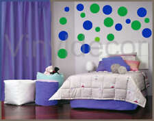 child decor circle 216 POLKA DOTS Vinyl wall sticker GB