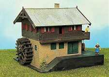 échelle H0 Kit de montage Maison avec Moulin à eau 1871 NEU