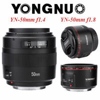 New Yongnuo 50mm F1.8II/F1.4 Large Aperture AF MF Full Frame Lens for Canon DG