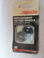 Superior Tool Tubing Cutter Wheel for Superior Cutter 36877 & 36878  # 42348