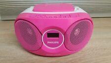 Philips AZ215 Radiorecorder  CD Player Boombox  tragbar anlage Pink R1