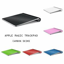 Apple MAGIC TRACKPAD 1 - Carbon 3D Skin Wrap Cover Decal - 9 Colors Available