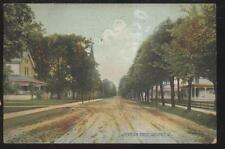 1906 Postcard Defiance Oh/Ohio Jefferson St Homes Houses