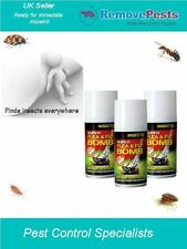 Ant bomb poison killer fogger fumigator for control of Ants triple pack