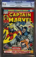 Captain Marvel # 30 CGC 9.6 OW/W (Marvel, 1974) Thanos and Drax appearance