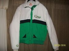 Vintage Quaker State Racing/King Sports Men's Quilted Lined Jacket Size L