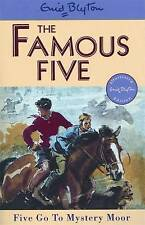 Five Go to Mystery Moor (Famous Five), By Enid Blyton,in Used but Acceptable con