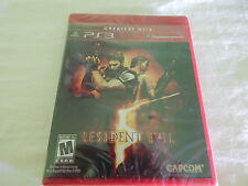 RESIDENT EVIL 5PS3 GAME NEW RED LABEL Y FOLD