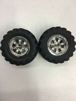Thunder Tiger Truck wheels & Tires 1/18 RC Car (2pc) #PD2136 OZRC