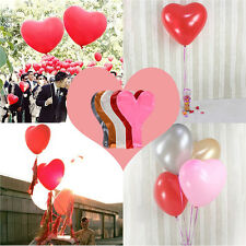 Large 36inch / 3ft Heart Shape Balloons Wedding Birthday Party Decoration Helium