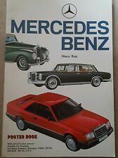 Large Mercedes benz poster book 24 colour posters