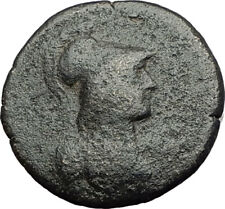 THYATEIRA in LYDIA Original 2-3CenAD Authentic Ancient Greek Coin ATHENA i64253