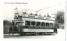Electric Tram, Willesden, Shows Cars 88 PC Size Repro Photo