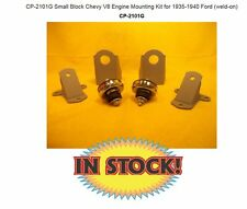 CP-2101G Small Block Chevy V8 Engine Mounting Kit for 1935-1940 Ford (weld-on)