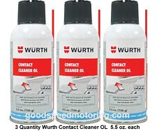 Wurth Contact Cleaner OL - 3 Pack - 5.5 oz. each