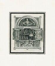 PAUL VOIGT: Eigen-Exlibris, 1898