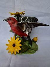 "Lenox "" White Winged Crossbill ""  Porcelain Bird Figurine  --  Beautiful & HTF"