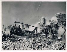 Services Cinématographiques des Armées- Démolition -  MAI 1944 FORMIA Italie