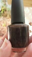 OPI Love Is Hot and cold F06 Dark Rich Brown Nail Lacquer Polish Ships Today