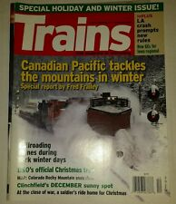 Trains Magazine December 2008
