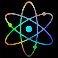 Atomic Chemistry Decal Car Window Door Bumper Laptop Motorcycle Vinyl Sticker