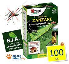 ZAPI Tator Insetticida B.I.A. Plus  100 ml - Contro zanzare pappataci Tetracip