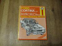 Ford Cortina Mk IV 1976-1983 Haynes Workship Manual All Models.