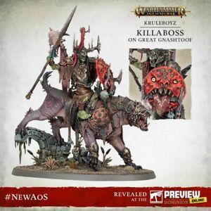 Warhammer Age of Sigmar: Dominion - Killaboss on Great Gnashtoof *Pre-order*
