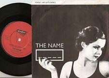 THE NAME F**K FORGET ART LET`S DANCE & MISFITS 45+PS 1980 MOD REVIVAL WHO JAM