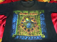 Rare OVER KILL band Concert Tee Men Black Cotton T-Shirt Size S-4XL  KL658