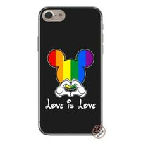 Love Is Love LGBT Rainbow Cases iPhone 5 5S SE 6 6S 7 8 + plus X XS XR XS MAX