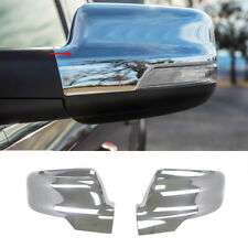 Fits for 2019  2020 Dodge Ram 1500 Sideview Mirror Cover Trim ABS Chrome
